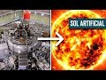 China hizo un sol artificial 6 veces mas caliente que el sol