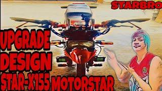 upgrade design star -x 155 motorstar