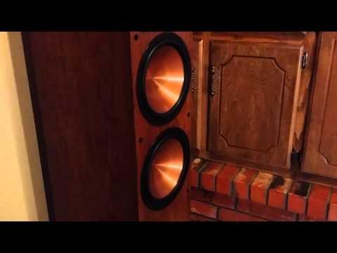 Bass I Love You   Klipsch RF 7 IIs, KW 12, & Marantz SR5800