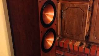 Bass I Love You   Klipsch RF 7 IIs, KW 12, & Marantz SR5800