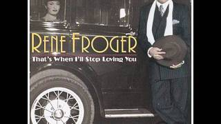 RENE FROGER - That's when i'll stop loving you (Featuring Anita Doth from 2 Unlimited) (1997) HQ