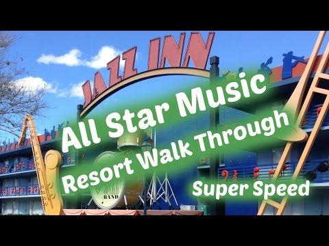 Disney's All Star Music Resort: Walk Through - Super Speed