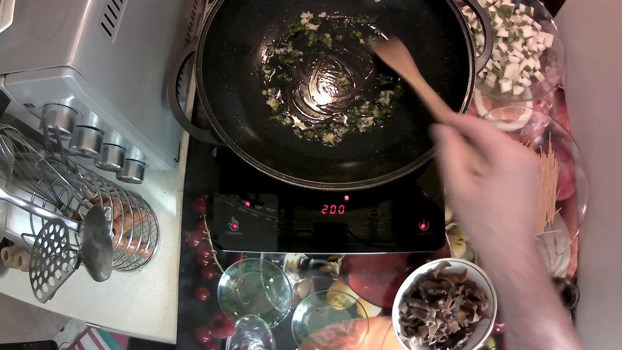 Китайская кухня: Китайский грибной суп