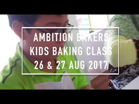 Kids Baking Class 2017 | Ambition Bakers