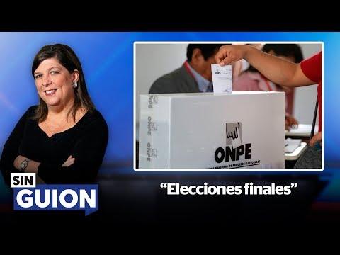 Elecciones finales - SIN GUION con Rosa María  Palacios