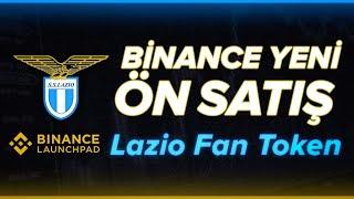 Binance Launchpad - Lazio Fan Token ÖN SATIŞI!!