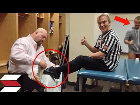 10 Rare Behind the Scenes Wrestling Photos You Need To See