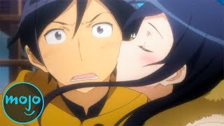Top 10 Times Anime Girls Fall for Losers (ft. Todd Haberkorn)