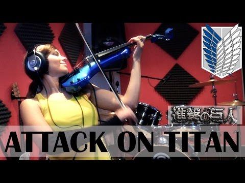 ATTACK ON TITAN (Guren no Yumiya) ❤ VIOLIN ANIME COVER!