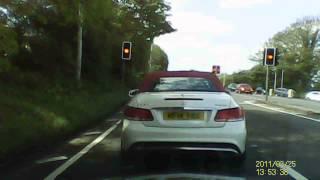 Asshole Mercedes Benz Driver