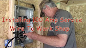 How to Install a Subpanel - YouTube Diagrams Load Wiring Center Electrical Hom on