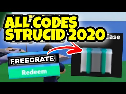 ALL *NEW* STRUCID CODES *ALL WORKING* 2020   Roblox