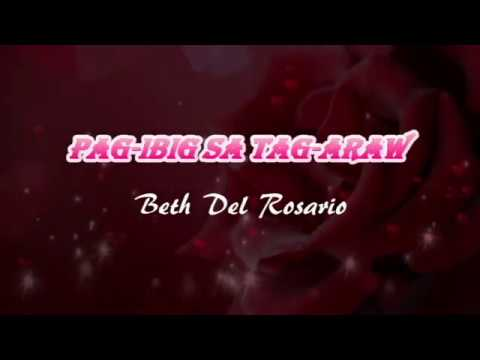 Pag ibig Sa Tag araw w/Lyrics Beth del rosario