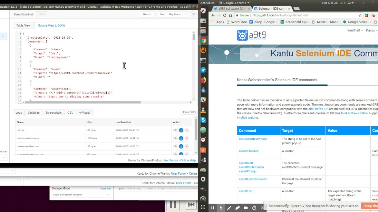testing Kantu 3 3 2 Oct 28, 2018 DEVS make demos add comments to code