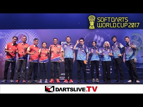 【PHILIPPINES VS JAPAN】 SOFT DARTS WORLD CUP 2017 -FINAL MATCH-