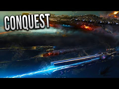 STAR SHIP CONQUEST! - Dreadnought Gameplay!