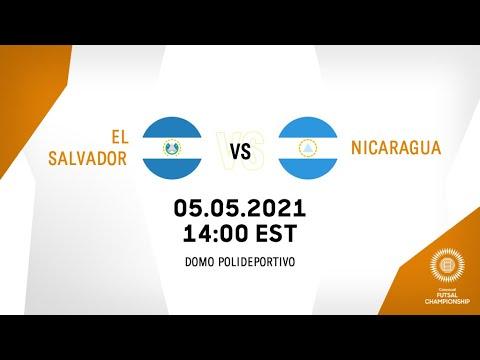 CFC 2021 | El Salvador vs Nicaragua