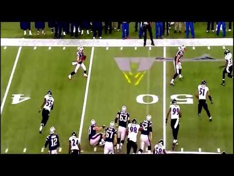 Julian Edelman 51 Yard TouchDown Pass To Daniel Amendola | Baltimore Ravens VS New England Patriots