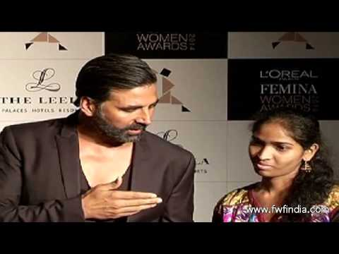 Akshay Kumar at L'Oreal Paris Femina Women Awards