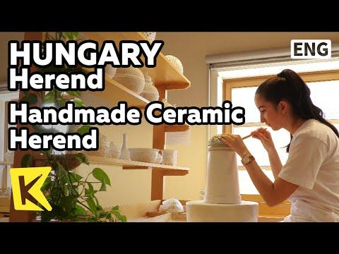 【K】Hungary Travel-Herend[헝가리 여행-헤렌드]헤렌드 도자기의 탄생 과정/Ceramic process/Experience/Handwork