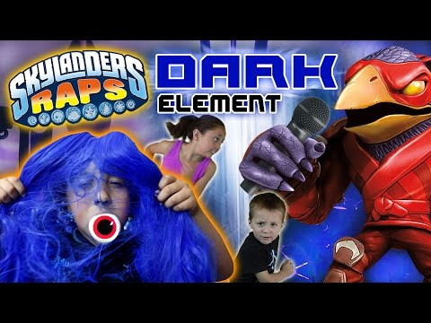 Skylanders Raps: DARK ELEMENT SONG (700th Video + 500k Subscriber Celebration) w/ RAPPING VILLAINS!