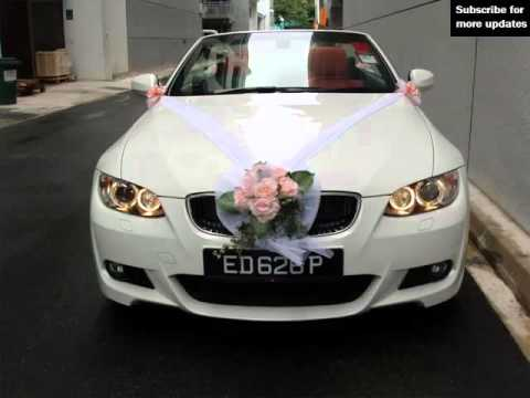Wedding Car Decoration Bmw