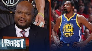 Kevin Durant didn't want to be in Golden State long-term - Antoine Walker | NBA | FIRST THINGS FIRST