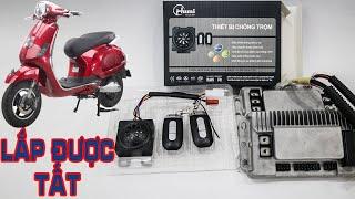 ⚡️Hướng dẫn lắp Chống Trộm cho tất cả các loại Xe Điện không có dây cắm chống trộm | Humi.vn