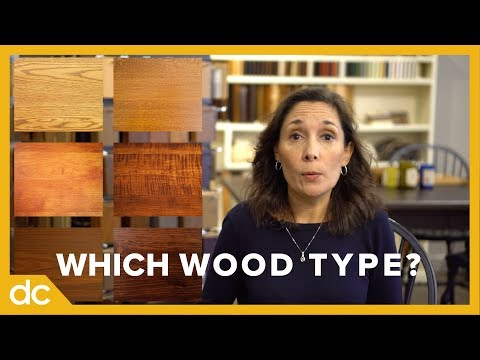 Which Wood Type Should I Choose for my Furniture? (Wood Types Compared)