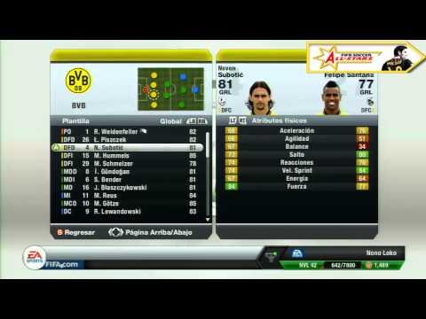 FIFA Soccer 13 - Borussia Dortmund - El recomendado Fifaallstars.com