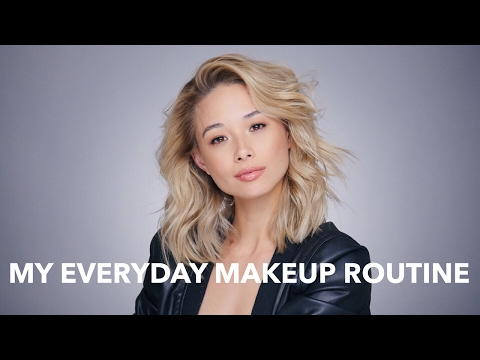 My Everyday Makeup Routine - Natural and Cruelty Free Makeup   Aja Dang