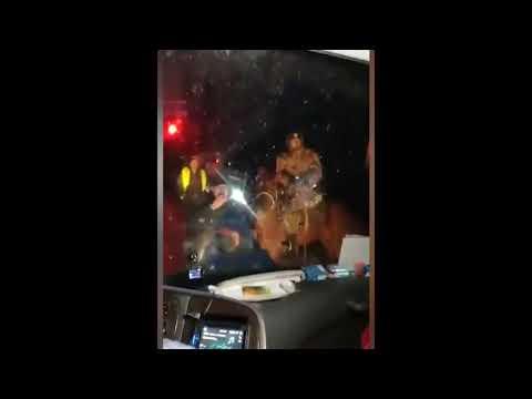 Нападение на автобус с наблюдателями в республике Тыва.