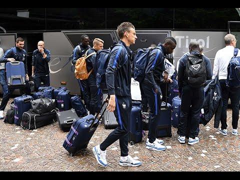 L'Equipe de France est en Autriche