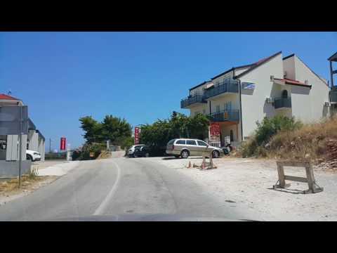 From Trogir to Slatine on Čiovo Island