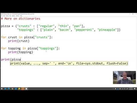 ICS: Dictionaries in Python