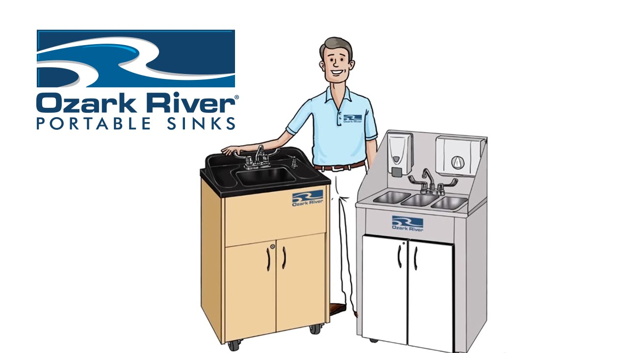Ozark River Portable Sinks  YouTube