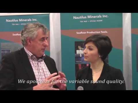 Nautilus Minerals CEO Mike Johnston Talks Underwater Mining