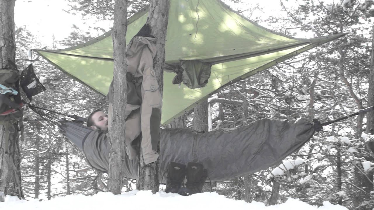 testing a setup   exped hammock liner and poncho   cold weather hammock camping and a failure testing a setup   exped hammock liner and poncho   cold weather      rh   youtube