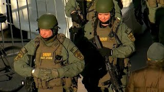 Massive security measures in place for Sunday's Super Bowl