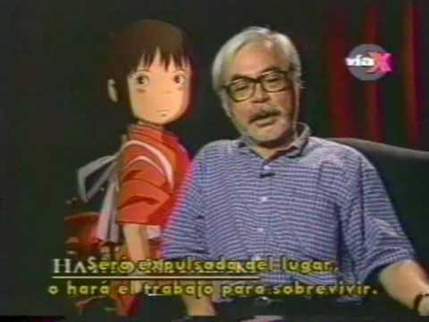 Hayao Miyazaki, su influencia en el cine de animación: