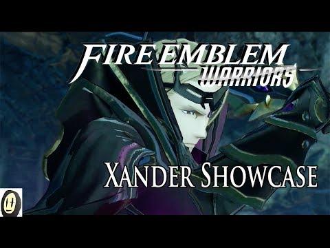 Fire Emblem Warriors - Xander Showcase