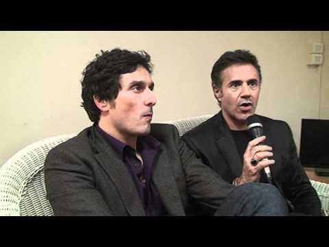 Interview de José Garcia, Vincent Elbaz et Cyril Hanouna - partie 1