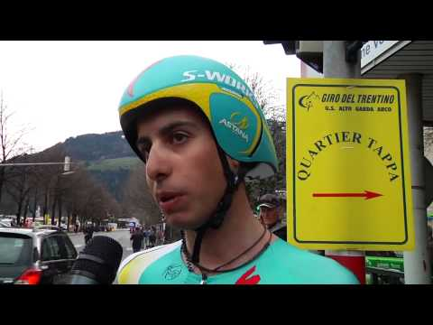 Giro del Trentino 2013 - Fabio Aru after the TTT