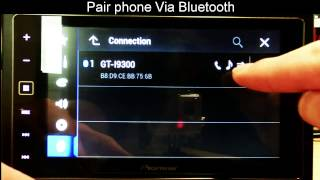 Pioneer: SPH-DA120 How to connect Android for AppRadio Mode