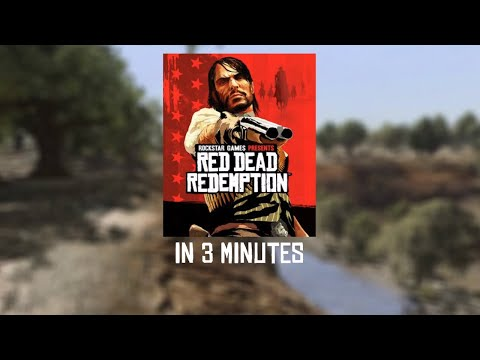 The Story of Red Dead Redemption In 3 Minutes! | Video Games In 3 @ArcadeCloud
