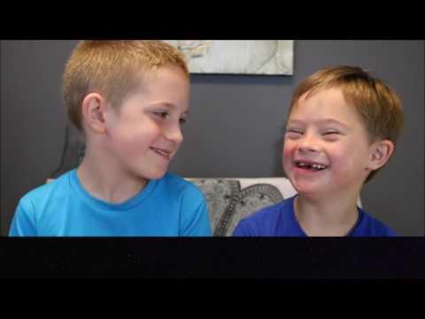 Intervista doppia a due fratellini speciali