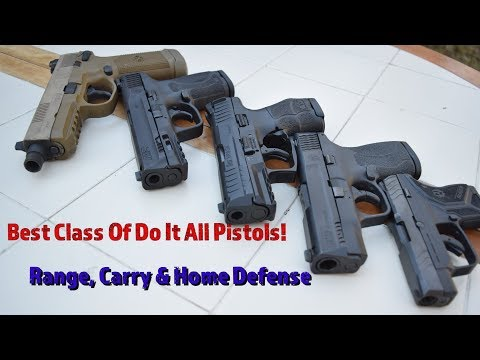 Best Pistols For Range, Carry & Home Defense! Which Guns Deliver?