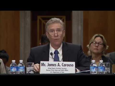 DAS Carouso Testifies on Democracy in Southeast Asia