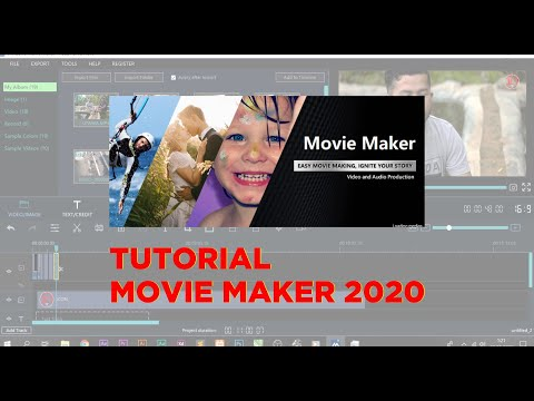 Cara Membuat Video Album dengan Movie Maker.