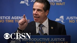 New York Gov. Andrew Cuomo signs bill strengthening abortion rights